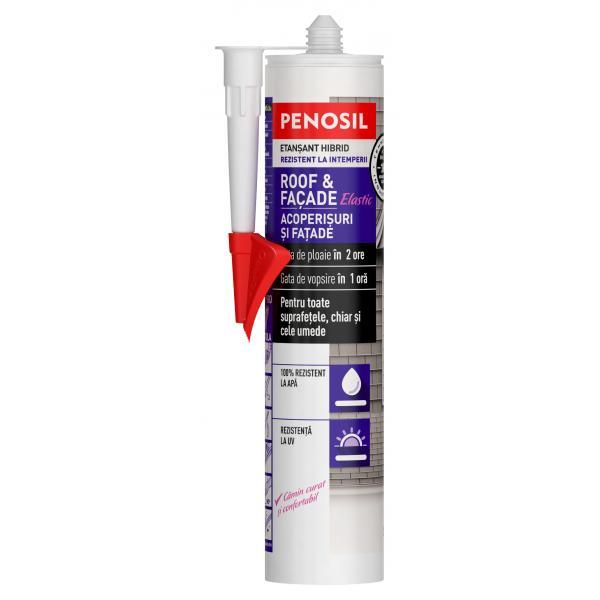 Etanșant elastic hibrid – PENOSIL Roof & Façade Elastic