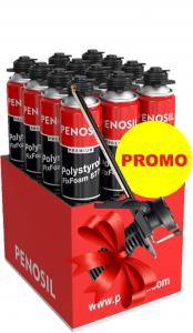 Pachet PROMOȚIONAL 1 bax spumă adezivă polistiren + PISTOL aplicare